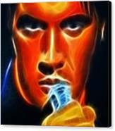Elvis Presley Canvas Print by Pamela Johnson