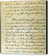 Emancipation Proc., P. 1 Canvas Print by Granger