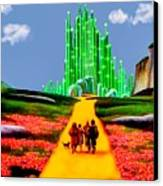 Emerald City Canvas Print by Tom Zukauskas