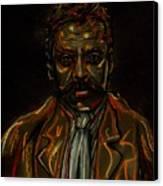 Emiliano Zapata Canvas Print by Americo Salazar