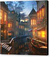 Enchanted Waters Canvas Print by Joel Payne