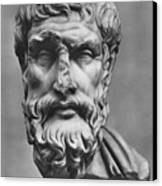 Epicurus (342?-270 B.c.) Canvas Print by Granger