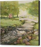 Evelyn's Creek Canvas Print by Becky West