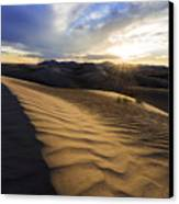 Evening Ripples Canvas Print by Chad Dutson