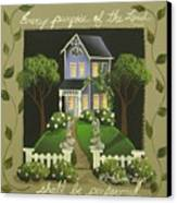Every Purpose Of The Lord... Canvas Print by Catherine Holman