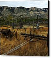 Ewing-snell Ranch 4 Canvas Print by Larry Ricker