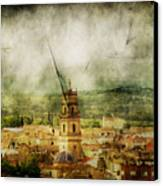 Existent Past Canvas Print by Andrew Paranavitana