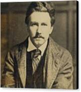 Ezra Pound 1885-1972, In The 1920s Canvas Print by Everett