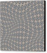 Fabric Design 12 Canvas Print by Karen Musick