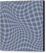 Fabric Design 13 Canvas Print by Karen Musick