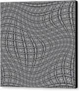Fabric Design 19 Canvas Print by Karen Musick