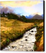 Faerie Lands - Beautiful Morning On The Isle Of Skye Canvas Print by Mark E Tisdale