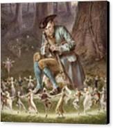 Fairy Dance Canvas Print by William Holmes Sullivan