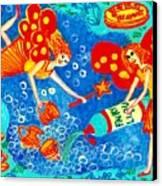 Fairy Liquid Canvas Print by Sushila Burgess