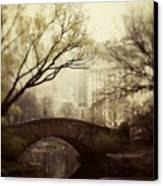 Fairy Of New York Canvas Print by Irene Suchocki