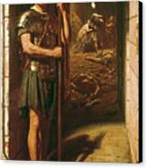 Faithful Unto Death Canvas Print by Sir Edward John Poynter
