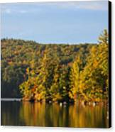Fall Reflection Canvas Print by Michael Mooney
