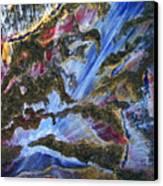 Falls Canvas Print by Pam Ellis