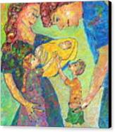 Family Matters Canvas Print by Naomi Gerrard