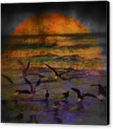 Fantasy Wings Canvas Print by Susanne Van Hulst
