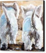 Farewell Canvas Print by Mary Sparrow