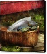 Farm - Laundry  Canvas Print by Mike Savad