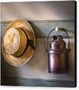 Farm - Tool - The Coat Rack Canvas Print by Mike Savad