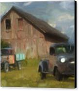 Farm Scene Canvas Print by Jack Zulli