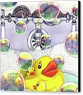 Feelin Ducky Canvas Print by Catherine G McElroy