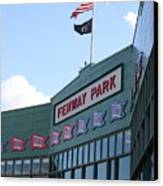 Fenway Park Centennial Canvas Print by Loud Waterfall Photography Chelsea Sullens