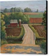 Fertile Farm Canvas Print by Sandra Quintus