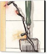 Festive Antique Herb Cutter Canvas Print by Ken Powers
