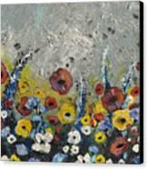 Field In Canvas Print by Amanda  Sanford