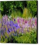Fields Of Purple Canvas Print by Lisa Konkol