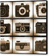 Film Camera Proofs 1 Canvas Print by Mike McGlothlen