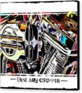 Fine Art Chopper II Canvas Print by Mike McGlothlen