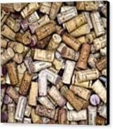 Fine Wine Corks Canvas Print by Frank Tschakert