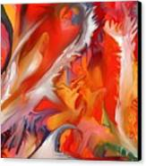 Fire Storm Canvas Print by Peter Shor