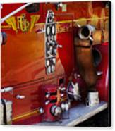 Fireman - Engine No 2  Canvas Print by Mike Savad