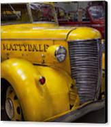 Fireman - Mattydale  Canvas Print by Mike Savad