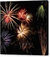 Fireworks Canvas Print by Jeff Kolker