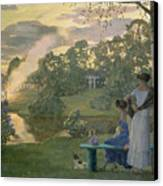 Fireworks Canvas Print by Konstantin Andreevic Somov