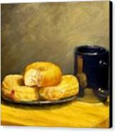 First Call...breakfast Canvas Print by Jack Skinner