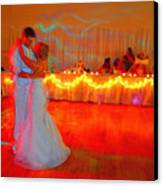 First Dance Canvas Print by Jame Hayes