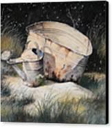 First Snow Canvas Print by Bob Hallmark