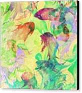 Fish Dreams Canvas Print by Rachel Christine Nowicki