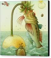 Fish Canvas Print by Kestutis Kasparavicius