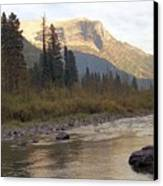 Flathead River Canvas Print by Richard Rizzo