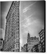 Flatiron Canvas Print by Shari Mattox