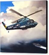 Flight Of The Seasprite Canvas Print by Marc Stewart